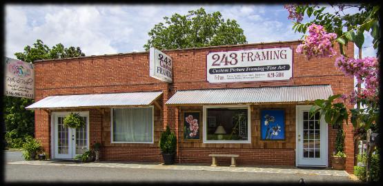 * frame shop *